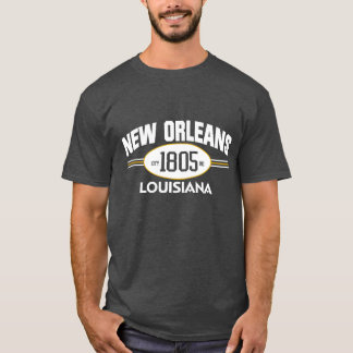 NEW ORLEANS LOUISIANA 1805 CITY INCORPORATED TEE