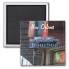 New Orleans Louisiana Bourbon Street Magnet