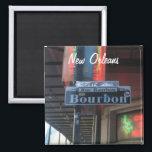 "New Orleans Louisiana Bourbon Street Magnet<br><div class=""desc"">New Orleans Louisiana Bourbon Street Magnet</div>"