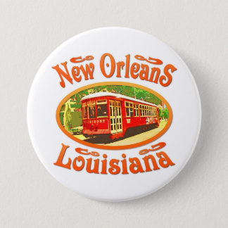 New Orleans Louisiana Button