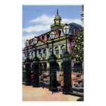 New Orleans Louisiana Cabildo in the 1940s Poster