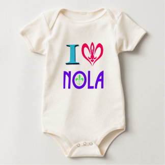NEW ORLEANS LOUISIANA GRAPHIC BABY BODYSUIT
