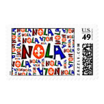 NEW ORLEANS LOUISIANA GRAPHIC POSTAGE
