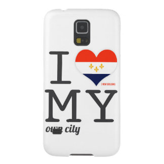 New Orleans Louisiana I love my own city Galaxy S5 Cases
