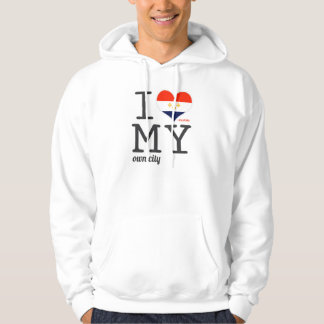 New Orleans Louisiana I love my own city Hoodie
