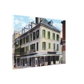 New Orleans Louisiana Napoleon House 1910 Stretched Canvas Print