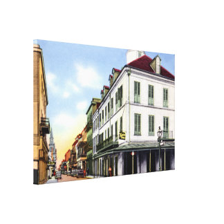 New Orleans Louisiana Napoleon House 1940 Gallery Wrapped Canvas