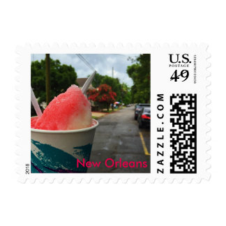 New Orleans, Louisiana Nectar Snoball Stamps