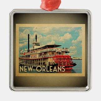 New Orleans Louisiana Ornament Vintage Travel