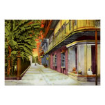 New Orleans Louisiana Pirates Alley French Quarter Print