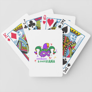 NEW ORLEANS LOUISIANA BICYCLE PLAYING CARDS