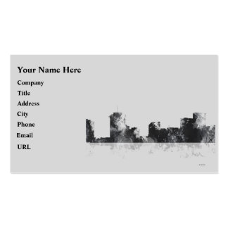 NEW ORLEANS, LOUISIANA SKYLINE Double-Sided STANDARD BUSINESS CARDS (Pack OF 100)