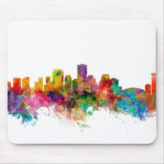 New Orleans Louisiana Skyline Mouse Pad