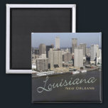 """New Orleans Louisiana Souvenir Fridge Magnet<br><div class=""""desc"""">Tip: Dated travel souvenir magnets are a fun way to keep a chronology of your travels and it&#39;s easy to add a date.</div>"""