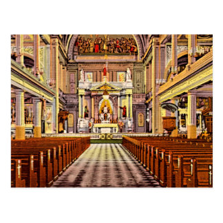 New Orleans, Louisiana St Louis Cathedral 1940 Post Card