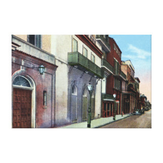 New Orleans Louisiana St Peter Street Canvas Print