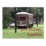 New Orleans, Louisiana Streetcar Post Card