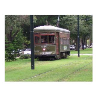 New Orleans, Louisiana Streetcar Postcard