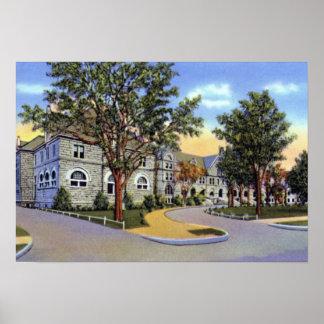 New Orleans Louisiana Tulane University Poster