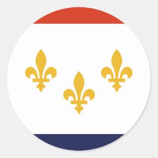 New Orleans, Louisiana, United States Classic Round Sticker