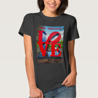 New Orleans Love Tee Shirts