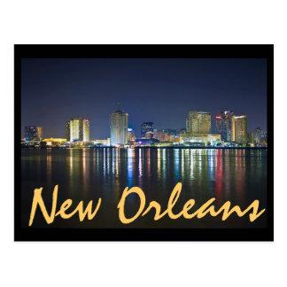New Orleans, Luisiana/el fácil grande en la noche Postal