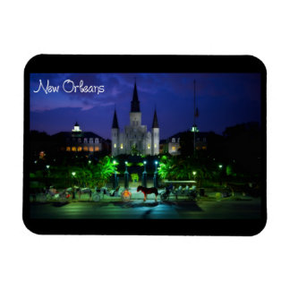 New Orleans Luisiana Rectangle Magnet