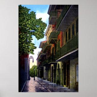 New Orleans Luisiana piratea el callejón Impresiones