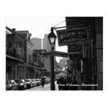 New Orleans, Luisiana Tarjeta Postal