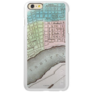 New Orleans Map, 1837 Incipio Feather Shine iPhone 6 Plus Case