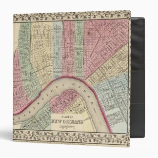 New Orleans Map by Mitchell Binder