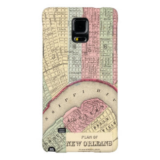 New Orleans Map by Mitchell Galaxy Note 4 Case