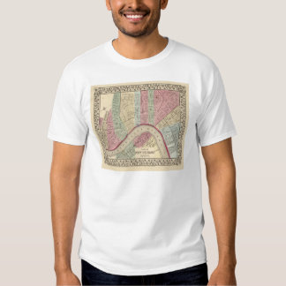 New Orleans Map by Mitchell Shirt