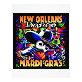 New Orleans Mardi Gras #010 Letterhead