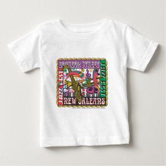 New Orleans Mardi Gras Baby T-Shirt
