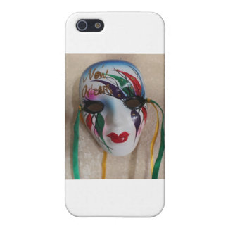 New Orleans Mardi Gras Mask iPhone 5 Case