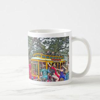 New Orleans Mardi Gras Parade Coffee Mug