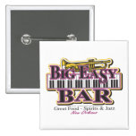 New Orleans Mardi Gras Pinback Buttons
