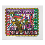 New Orleans Mardi Gras Posters