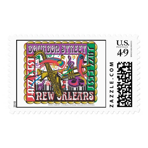 New Orleans Mardi Gras Stamps