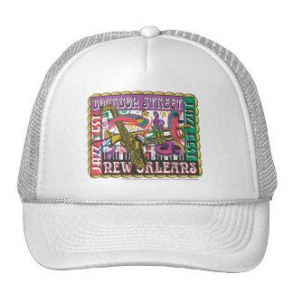 New Orleans Mardi Gras Trucker Hat