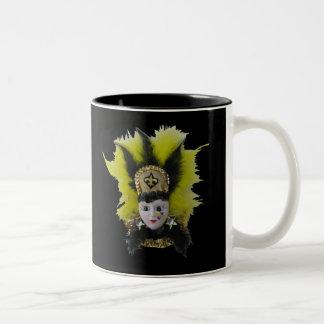 New Orleans Mardi Gras Two-Tone Coffee Mug