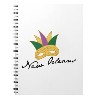 New Orleans Mask Note Book