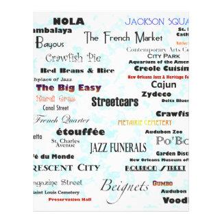 New Orleans Membrete A Diseño