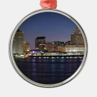 NEW ORLEANS METAL ORNAMENT