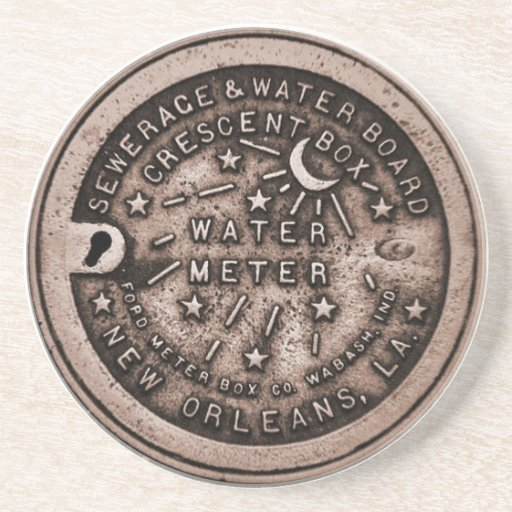 New Orleans Meter Cover Coasters