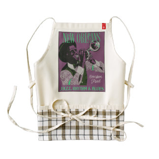 New Orleans Music apron