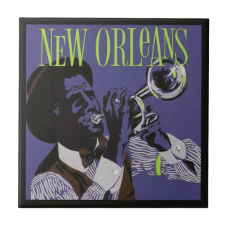 New Orleans Music ceramic tiles