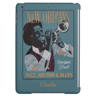 New Orleans Music custom name device cases iPad Air Case