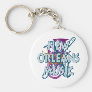 New Orleans Music Keychains
